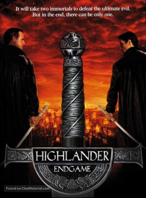 Highlander: Endgame - DVD movie cover