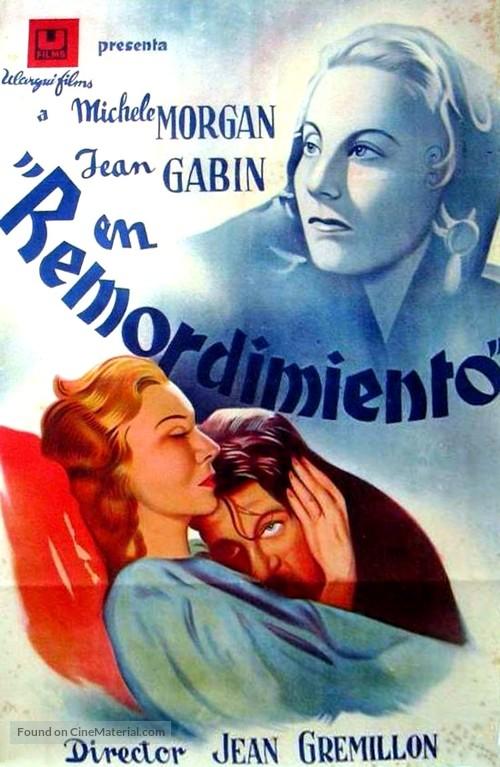 Remorques - Spanish Movie Poster