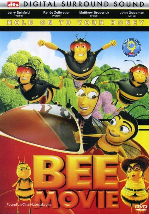 Bee Movie 2007 Dvd Movie Cover