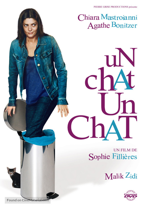 Un chat un chat - French Movie Cover