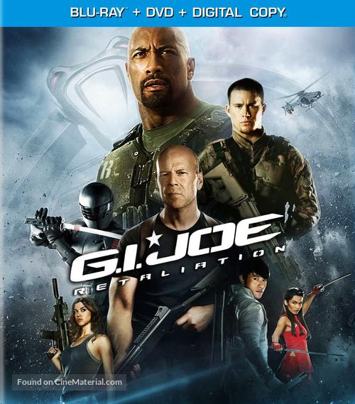G.I. Joe: Retaliation - Blu-Ray movie cover