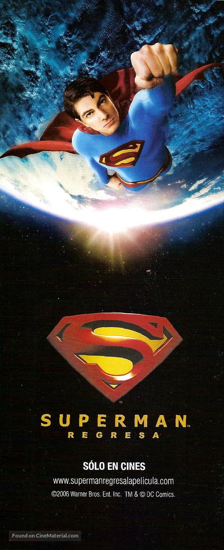 Superman Returns - Argentinian Movie Poster