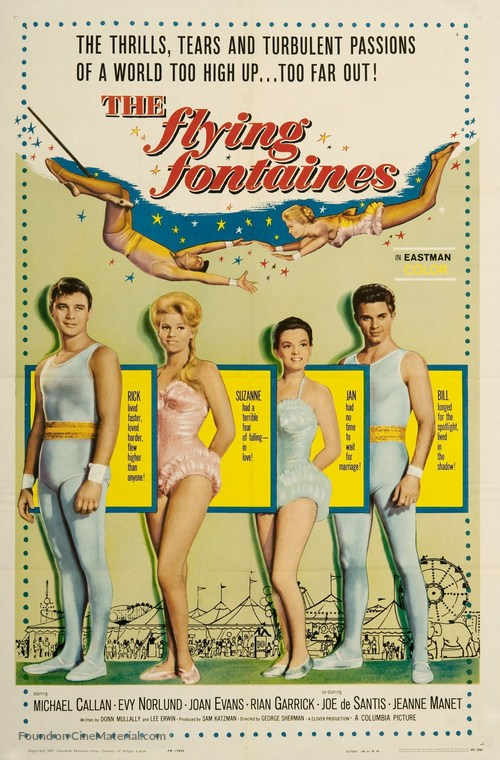The Flying Fontaines - Movie Poster