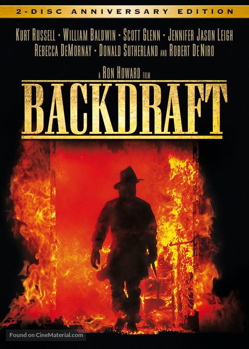 Backdraft - DVD movie cover