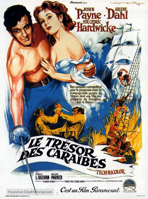 Caribbean - French Movie Poster