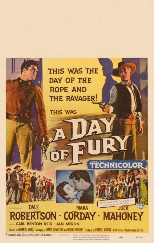 A Day of Fury - Movie Poster
