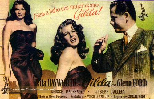 Gilda movie poster