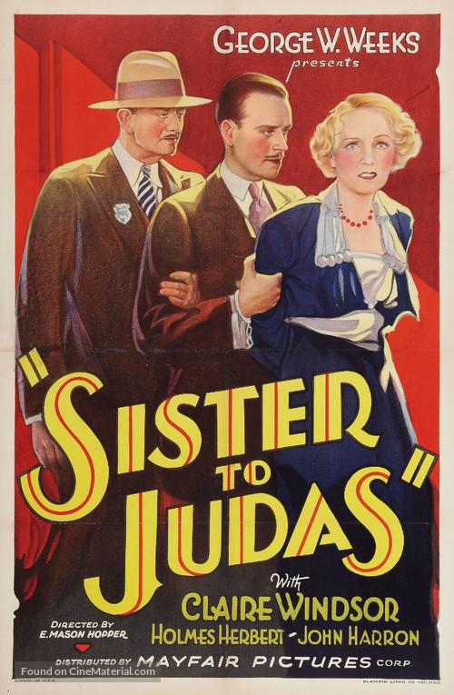 Sister to Judas - Movie Poster