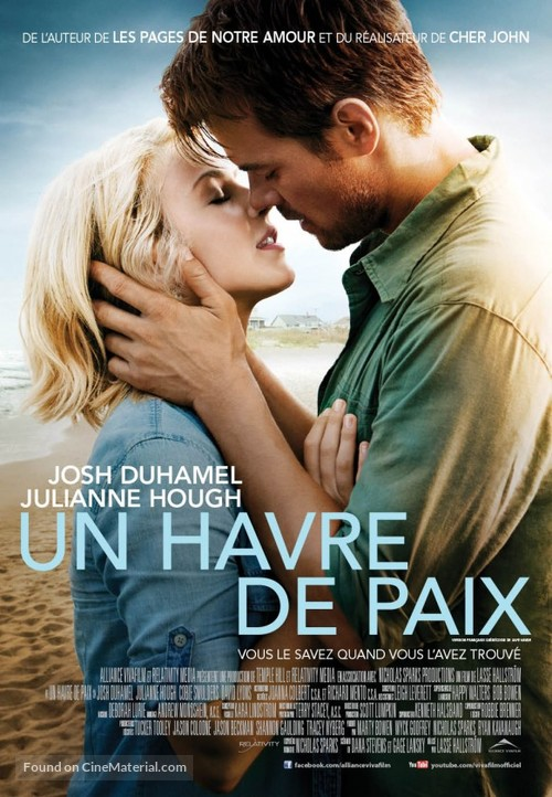 Safe Haven - Canadian Movie Poster