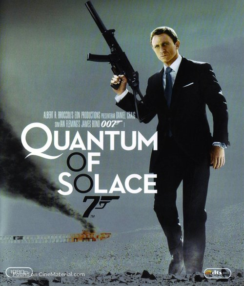 Quantum of Solace - Swedish Movie Cover