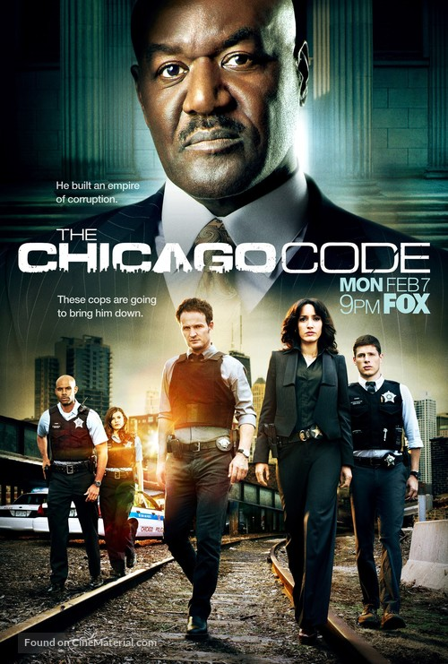 """""""The Chicago Code"""" - Movie Poster"""