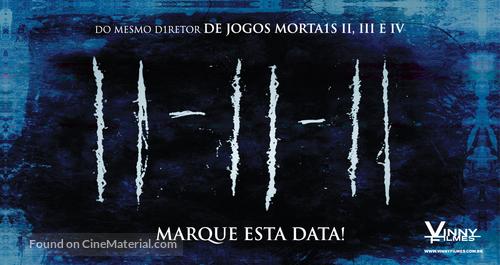 11 11 11 - Brazilian Movie Poster