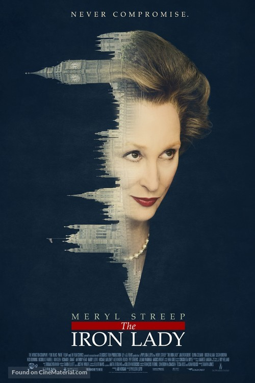 The Iron Lady - Movie Poster