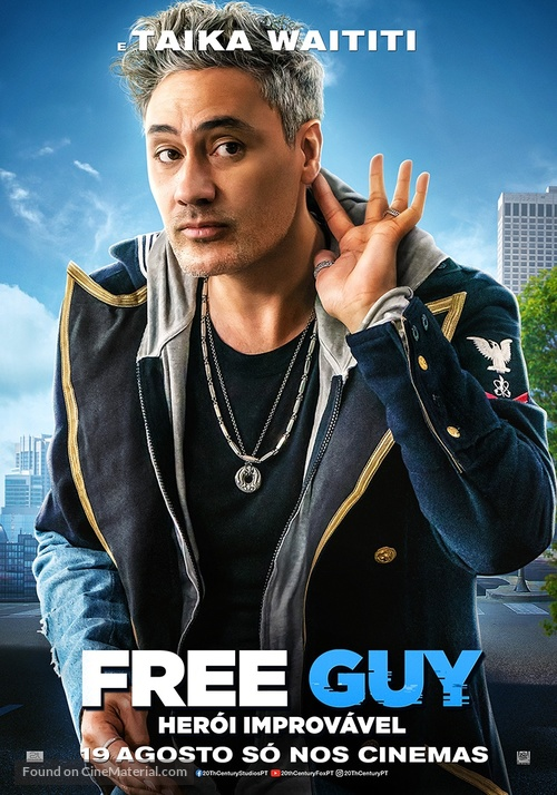 Free Guy - Portuguese Movie Poster