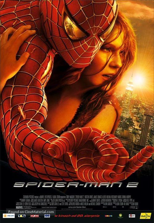 Spider-Man 2 - Polish Movie Poster