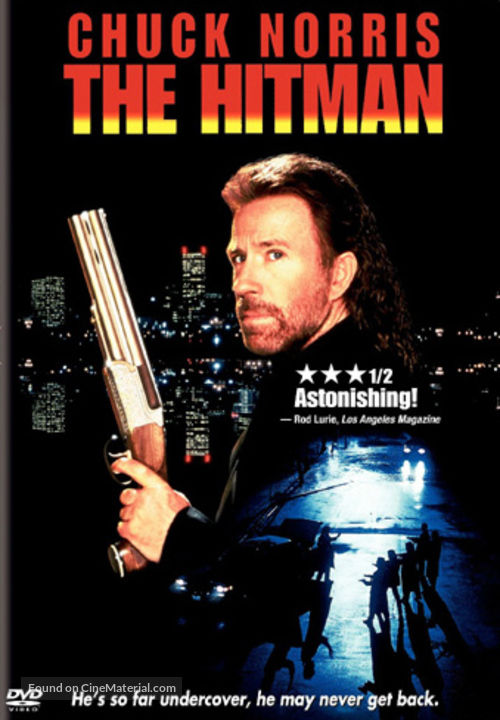 The Hitman - DVD movie cover