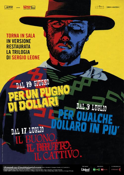 Per qualche dollaro in più - Italian Combo movie poster