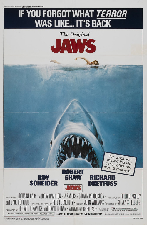Jaws - Movie Poster