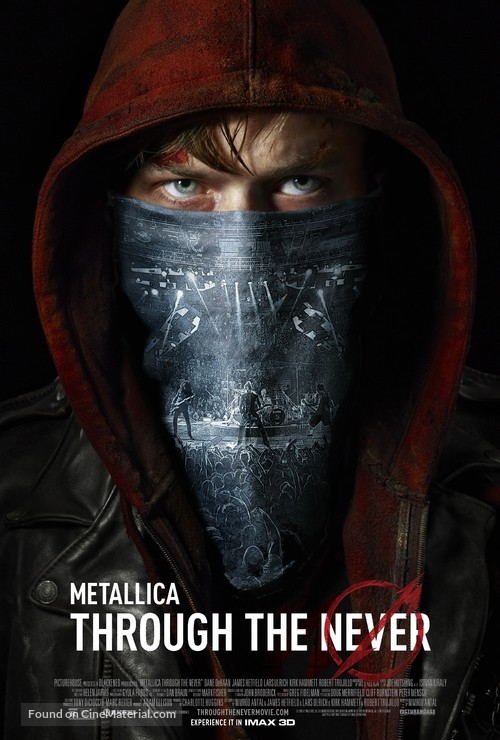 Metallica Through the Never - Movie Poster