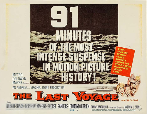 The Last Voyage - Movie Poster