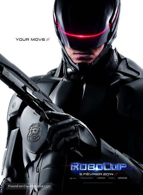 RoboCop - French Movie Poster