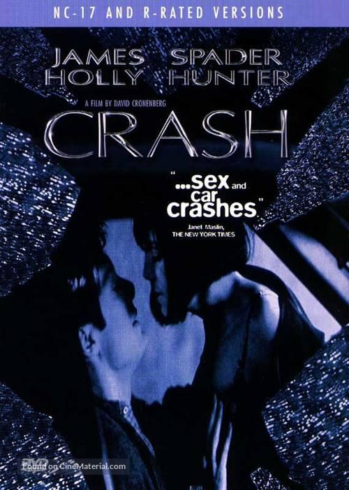 Crash - DVD movie cover