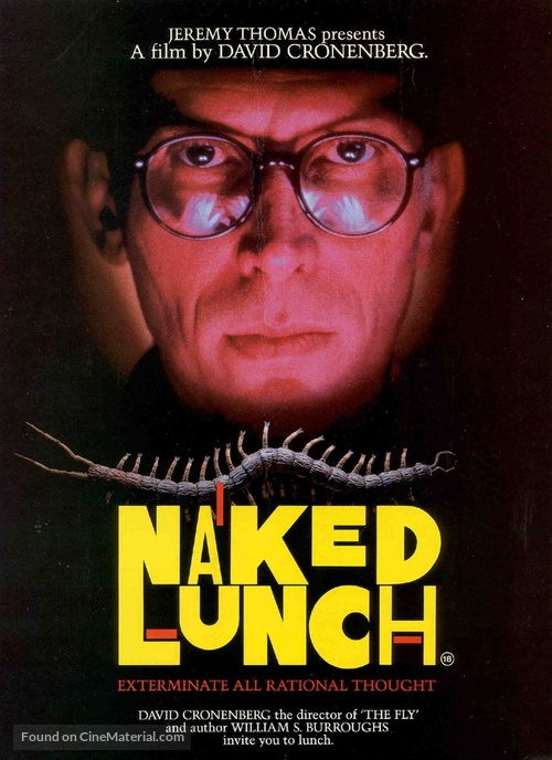 Naked Lunch - British Movie Poster