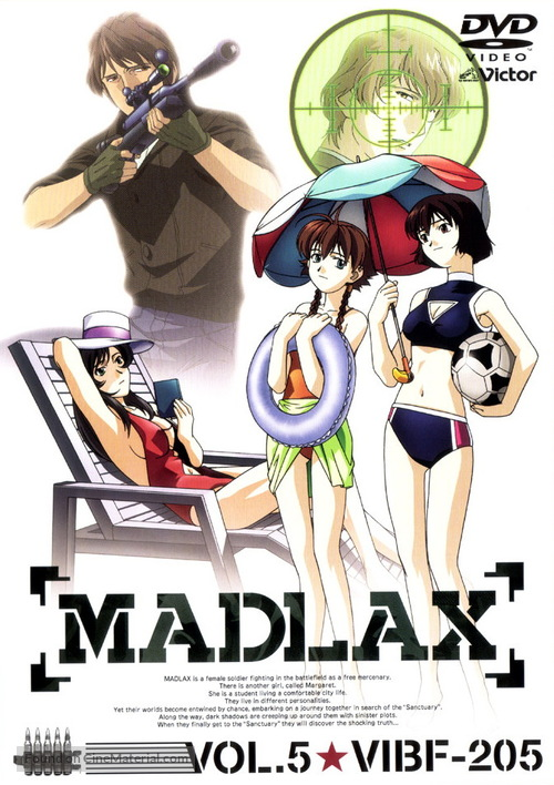 """Madlax"" - Japanese Movie Cover"