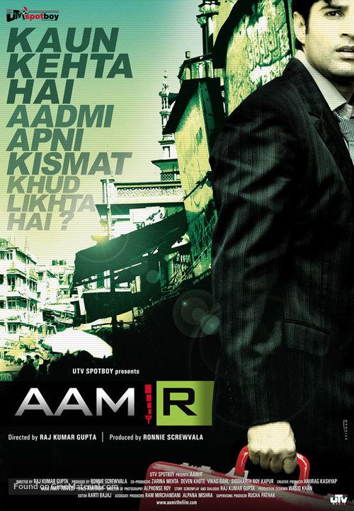Aamir - Indian Movie Poster