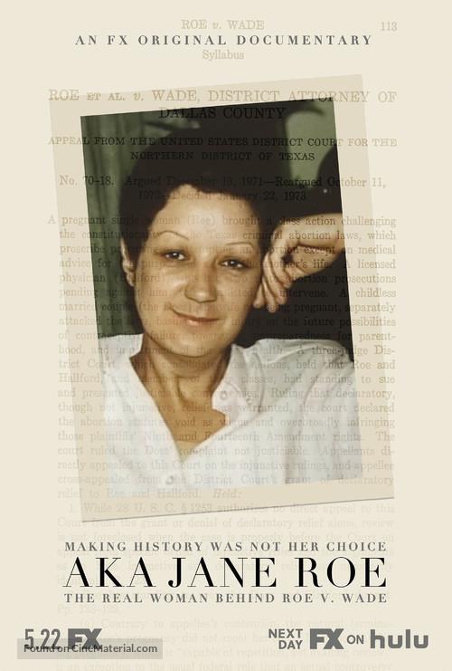 AKA Jane Roe - Movie Poster