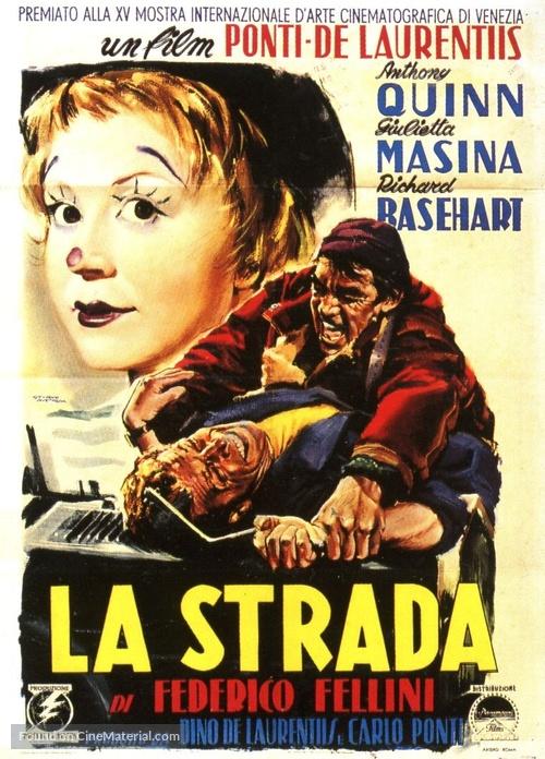 La strada - Italian Movie Poster
