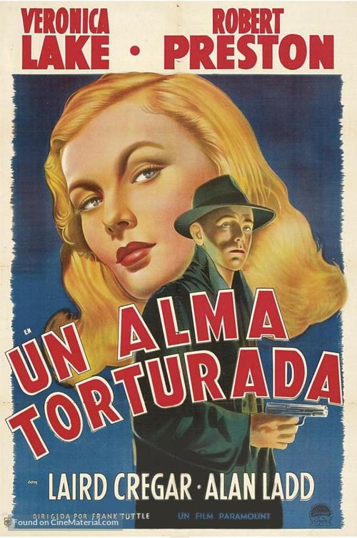 This Gun for Hire - Argentinian Movie Poster