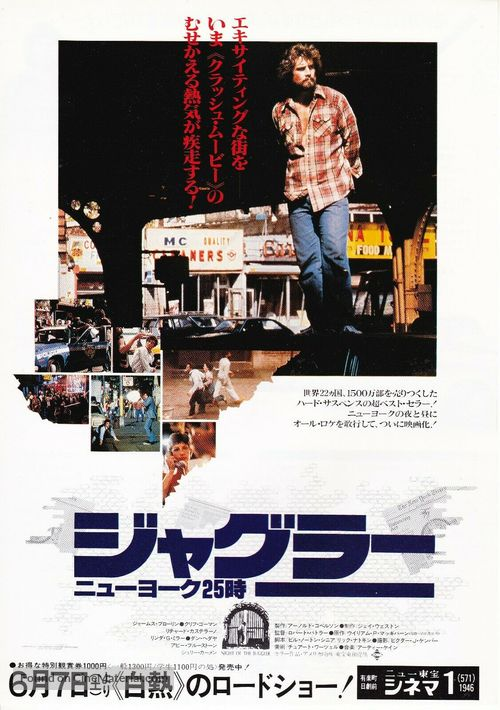 Night of the Juggler - Japanese Movie Poster