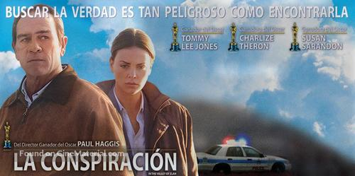 In the Valley of Elah - Argentinian Movie Poster