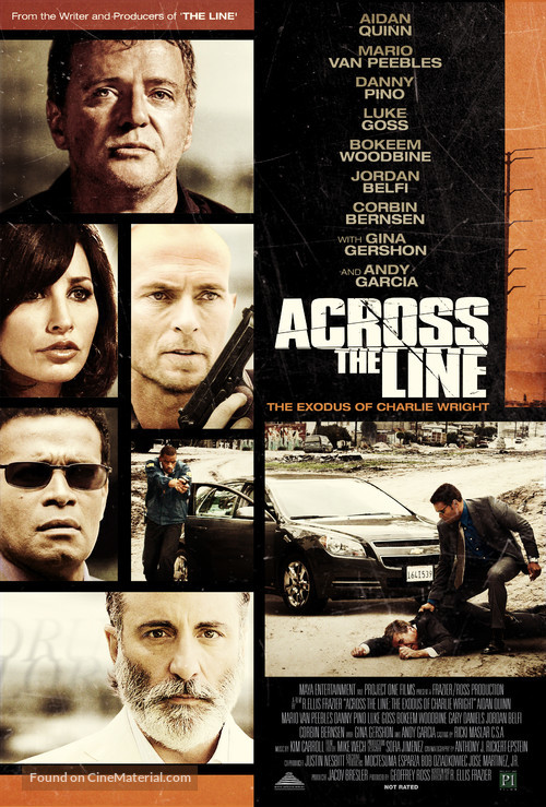 Across the Line: The Exodus of Charlie Wright - Movie Poster