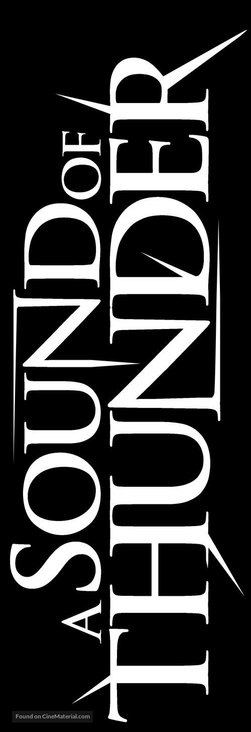 A Sound of Thunder - German Logo