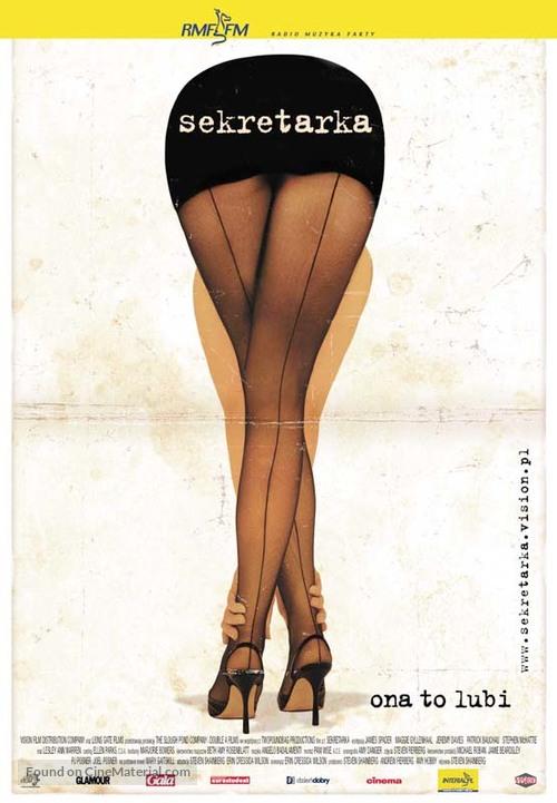 Secretary - Polish Movie Poster