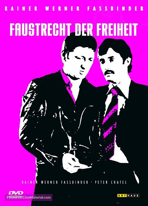 Faustrecht der Freiheit - German DVD movie cover