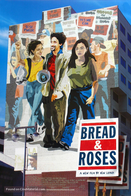 Bread and Roses - Movie Poster