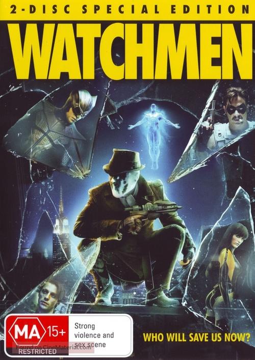 Watchmen - Australian DVD movie cover