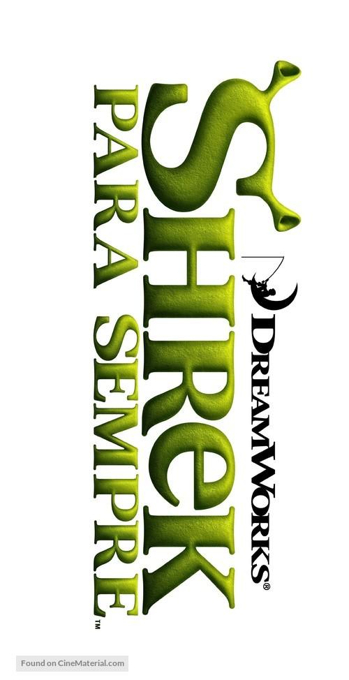 Shrek Forever After - Brazilian Logo