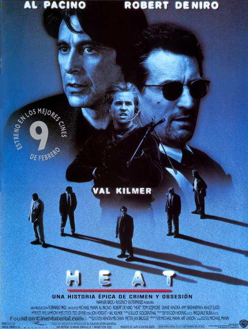 Heat - Spanish Movie Poster
