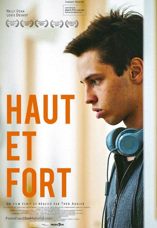Haut et Fort - French Movie Poster