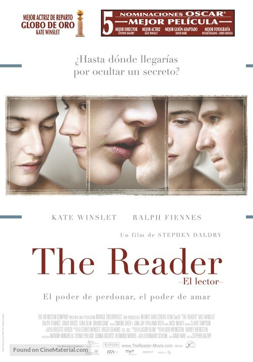 The Reader - Spanish Movie Poster