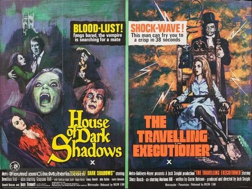 House of Dark Shadows - British Movie Poster