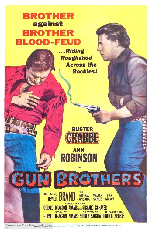 Gun Brothers - Movie Poster