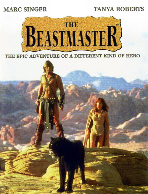 The Beastmaster - DVD movie cover