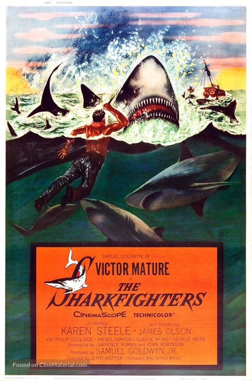 The Sharkfighters - Movie Poster