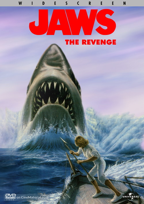 Jaws: The Revenge - DVD movie cover