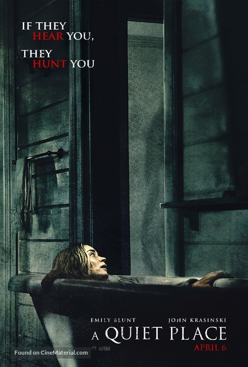 A Quiet Place - Movie Poster